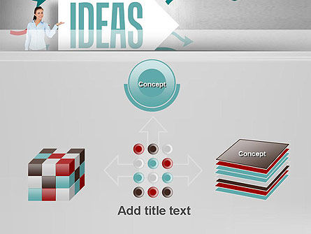 Ideas Presentation PowerPoint Template Slide 19