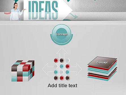 Ideas Presentation PowerPoint Template Slide 19