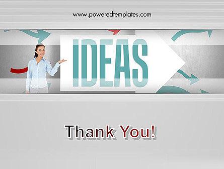 Ideas Presentation PowerPoint Template Slide 20