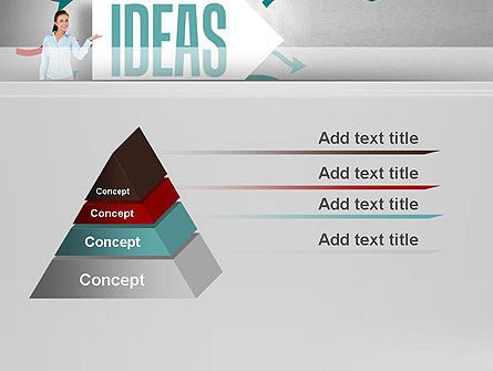 Ideas Presentation PowerPoint Template, Slide 4, 12756, Business Concepts — PoweredTemplate.com