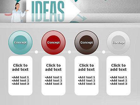 Ideas Presentation PowerPoint Template Slide 5