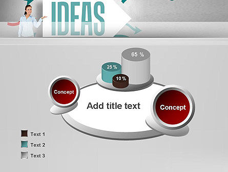 Ideas Presentation PowerPoint Template Slide 6