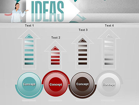 Ideas Presentation PowerPoint Template Slide 7