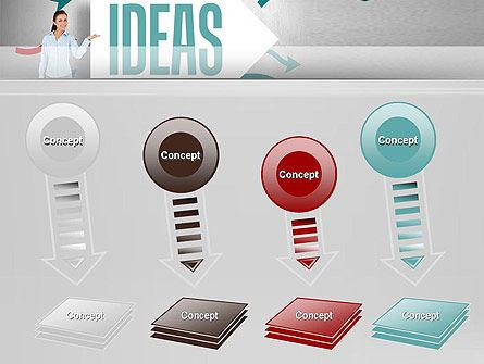 Ideas Presentation PowerPoint Template Slide 8