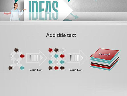 Ideas Presentation PowerPoint Template Slide 9