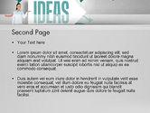 Ideas Presentation PowerPoint Template#2