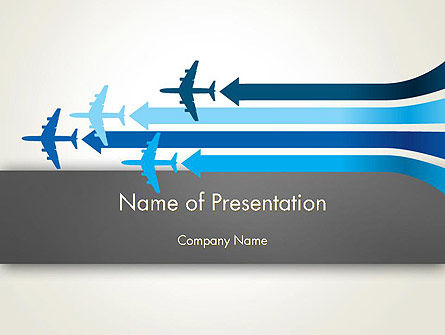 Aerial Transport PowerPoint Template