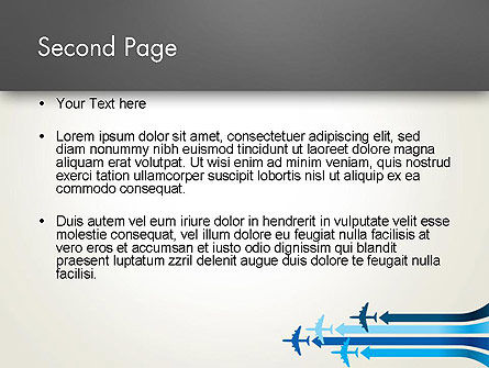 Aerial Transport PowerPoint Template Slide 2