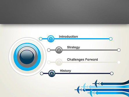 Aerial Transport PowerPoint Template Slide 3