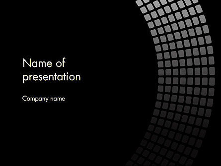 Stylish Black PowerPoint Template