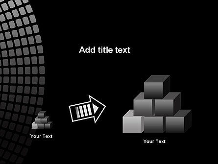 Stylish Black PowerPoint Template Slide 13
