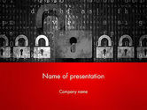 Careers/Industry: Data Security and Privacy PowerPoint Template #12761