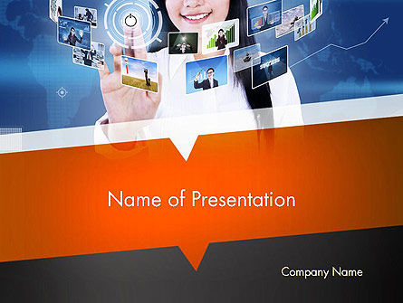 Social Trends PowerPoint Template