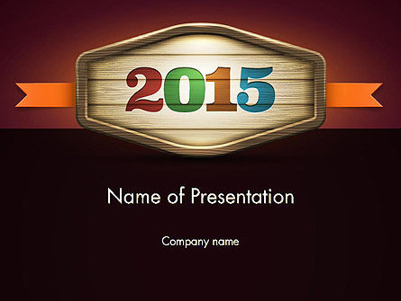 Calendar 2015 PowerPoint Template, 12763, Holiday/Special Occasion — PoweredTemplate.com