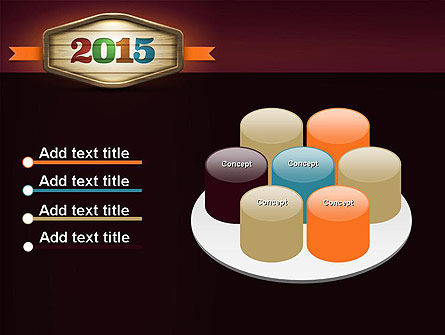 Calendar 2015 PowerPoint Template Slide 12