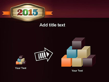 Calendar 2015 PowerPoint Template Slide 13