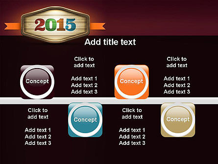 Calendar 2015 PowerPoint Template Slide 18