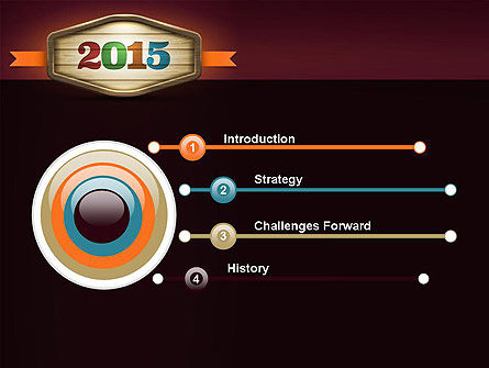 Calendar 2015 PowerPoint Template, Slide 3, 12763, Holiday/Special Occasion — PoweredTemplate.com