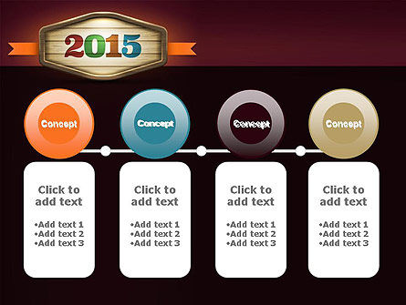 Calendar 2015 PowerPoint Template Slide 5