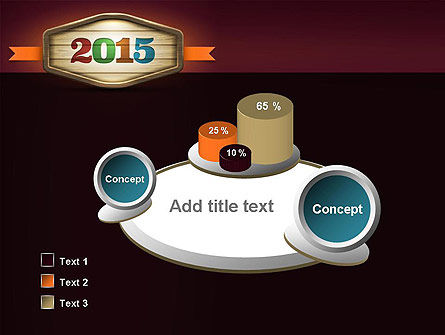 Calendar 2015 PowerPoint Template Slide 6