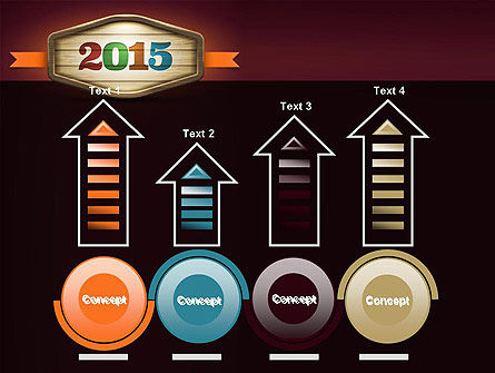 Calendar 2015 PowerPoint Template Slide 7