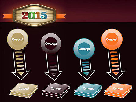 Calendar 2015 PowerPoint Template Slide 8