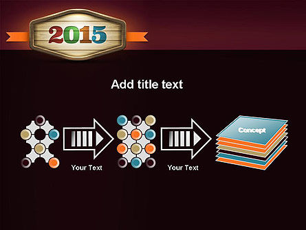 Calendar 2015 PowerPoint Template Slide 9