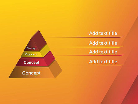 Orange Red Gradient PowerPoint Template Slide 12