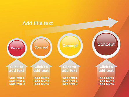Orange Red Gradient PowerPoint Template Slide 13