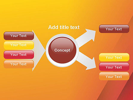 Orange Red Gradient PowerPoint Template Slide 14