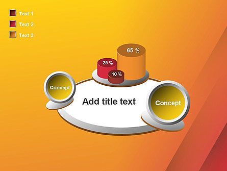 Orange Red Gradient PowerPoint Template Slide 16