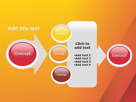 Orange Red Gradient PowerPoint Template Slide 17