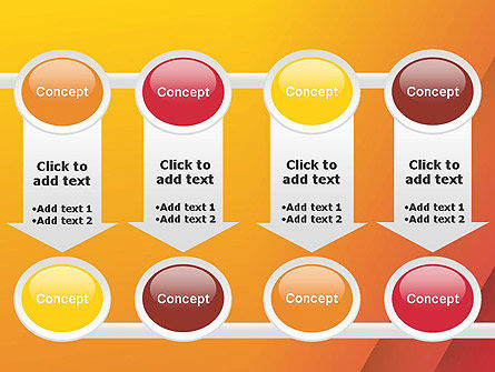 Orange Red Gradient PowerPoint Template Slide 18