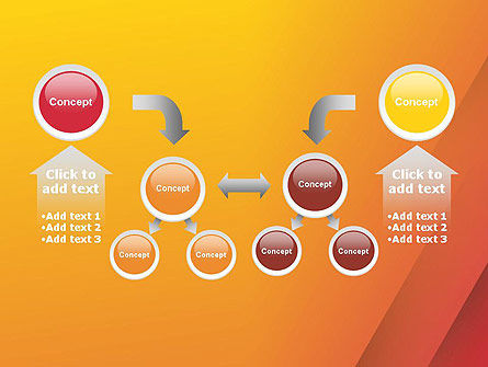 Orange Red Gradient PowerPoint Template Slide 19