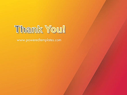 Orange Red Gradient PowerPoint Template Slide 20