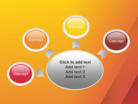 Orange Red Gradient PowerPoint Template Slide 7