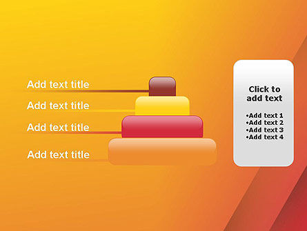 Orange Red Gradient PowerPoint Template Slide 8
