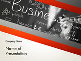 Business: Business Project Concept PowerPoint Template #12765