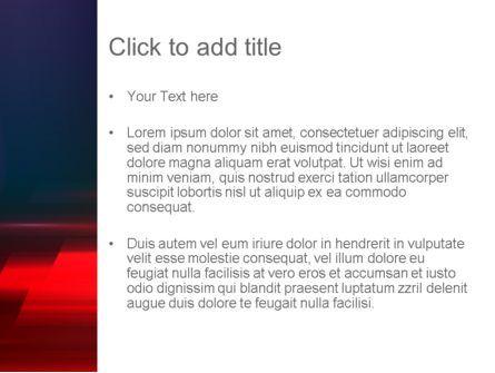 Red Blur PowerPoint Template, Slide 3, 12768, Abstract/Textures — PoweredTemplate.com