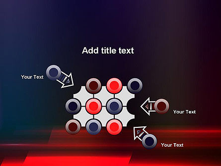 Red Blur PowerPoint Template Slide 10