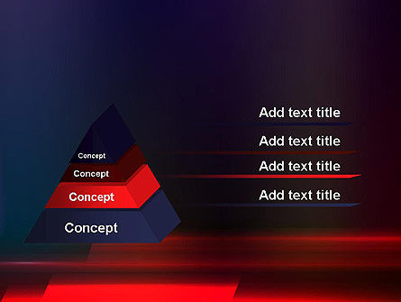 Red Blur PowerPoint Template Slide 4