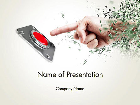 Careers/Industry: Call to Action Button PowerPoint Template #12771