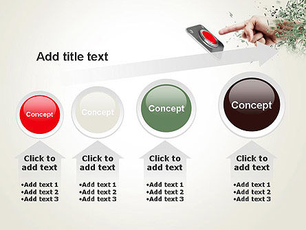 Call to Action Button PowerPoint Template Slide 13