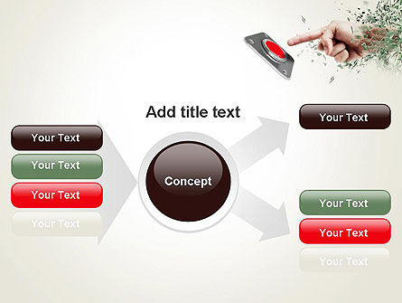 Call to Action Button PowerPoint Template Slide 14