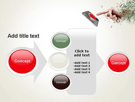 Call to Action Button PowerPoint Template Slide 17