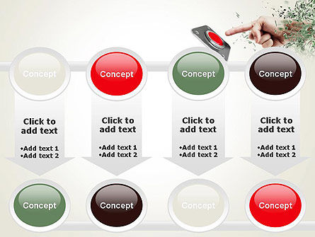 Call to Action Button PowerPoint Template Slide 18