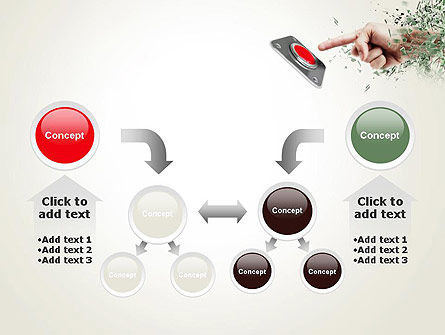 Call to Action Button PowerPoint Template Slide 19