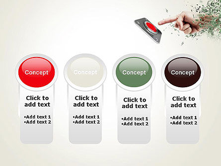 Call to Action Button PowerPoint Template Slide 5