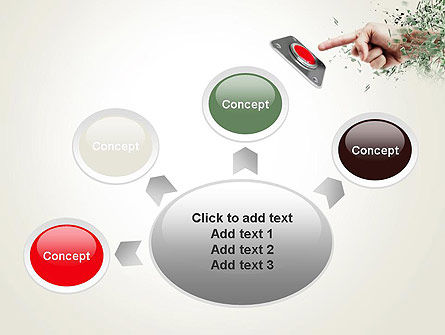 Call to Action Button PowerPoint Template Slide 7