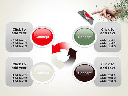 Call to Action Button PowerPoint Template Slide 9